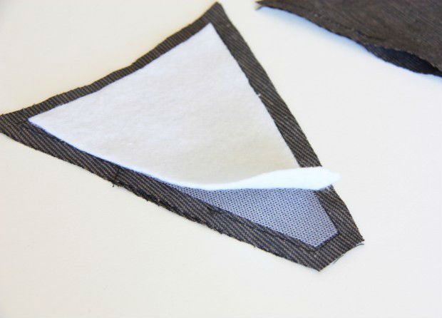 Como decorar chinelo com tecido e pérolas 5