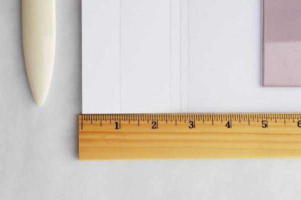 Como fazer álbum de scrapbook passo 2