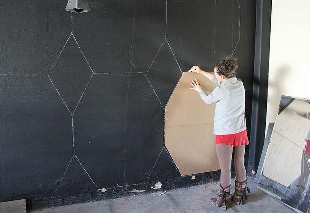 Como fazer uma decoração rápida e barata na parede 1