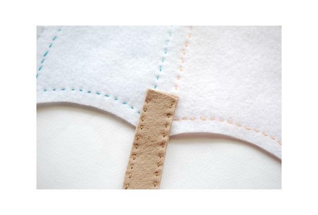 Bolsa De Tecido De Guarda Chuva Passo A Passo : Guarda chuva de feltro passo a com molde
