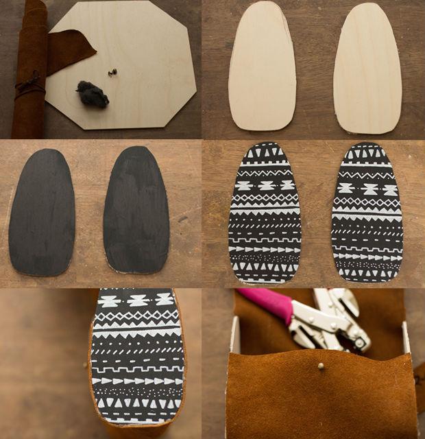 Bolsa De Mão Para O Dia A Dia : Como fazer bolsa de m?o couro passo a