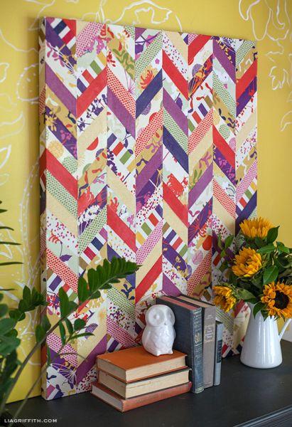 Há muitas ideias para fazer quadros decorativos em casa, escolha a sua preferida (Foto: liagriffith.com)