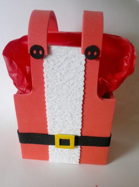 Porta guloseimas do papai Noel é lindo e sempre faz muito sucesso (Foto: ateliekreateva.com.br)