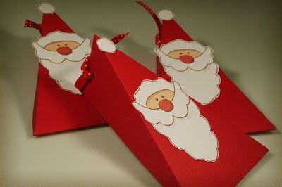 Faça esta linda caixinha de Natal criativa (Foto: miri-d.blogspot.de)