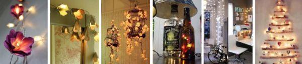 Ideias para Decoração de Natal com Pisca-Pisca 1