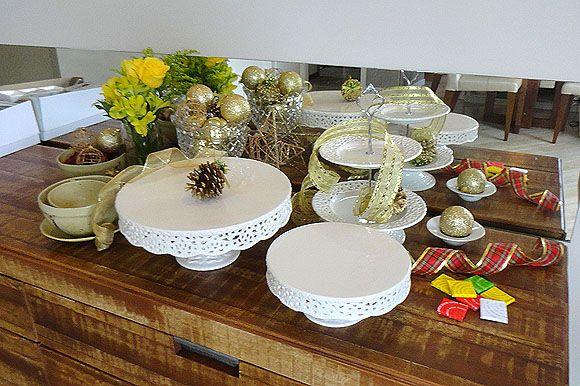 Escolha algumas das ideias para decoração de Natal de última hora e deixe a sua casa em ordem para a época natalina (Foto: silviaoliveira.com.br)