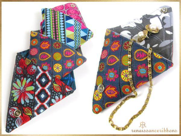Invista em porta-trecos em origami para também vender e ganhar um dinheiro extra (Foto: sew4home.com)