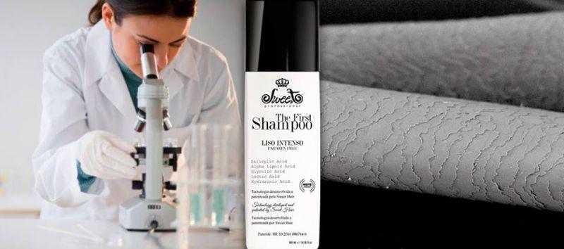 Conheça o shampoo que alisa o cabelo Sweet Hair (Foto: sweethair.com.br)