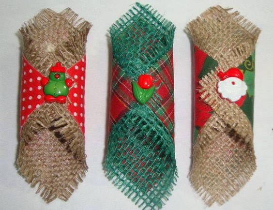 Artesanatos com Saco de Estopa