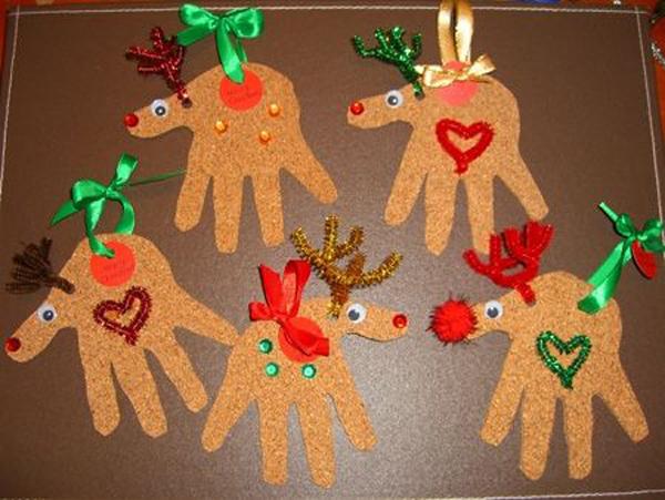 Populares 15 Ideias de Artesanatos de Natal para Fazer com Alunos HU88