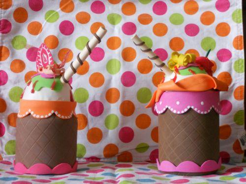 30 potes decorados com eva para cozinha for Botes de cocina decorados con goma eva