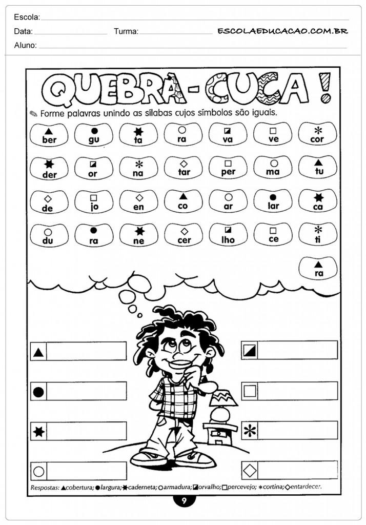 Dicas de Atividades de Português 5º ano Ortografia