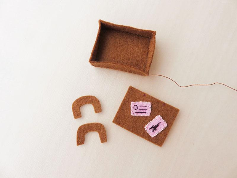 boneca de feltro facil de fazer