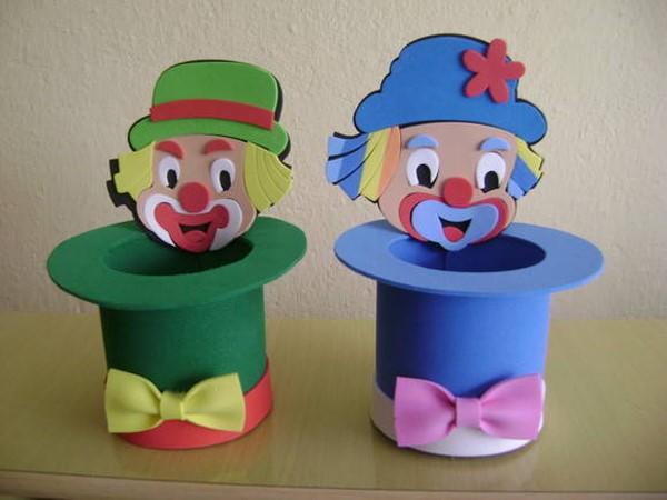 artesanato infantil com EVA facil de fazer