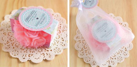 como fazer sabonete artesanal para lembrancinhas