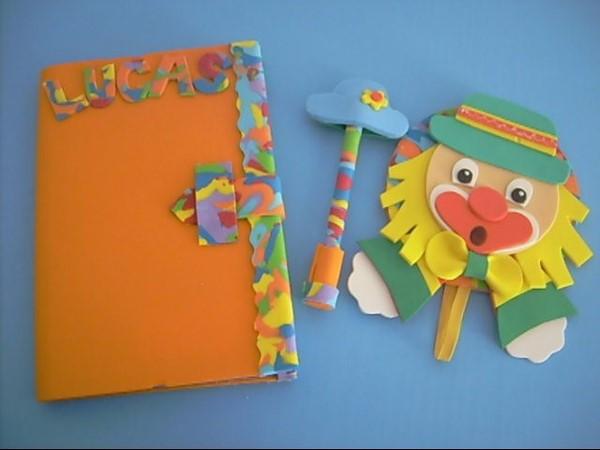 ideias de artesanato infantil para fazer em eva