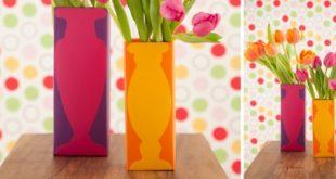 ideias de artesanato com caixa de leite vazia