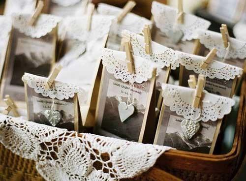 lembranças faceis de casamento
