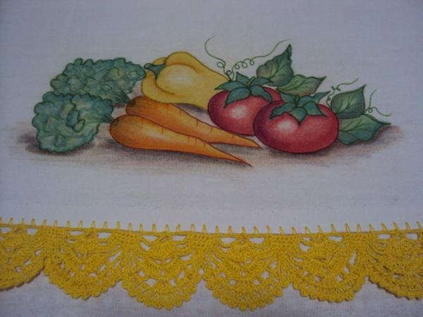 pintura com maçã