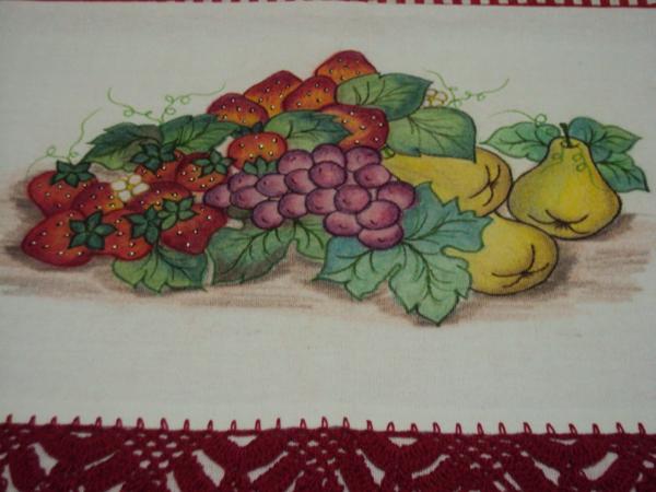 salada de frutas pintada