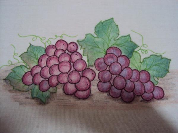 pintura de uvas