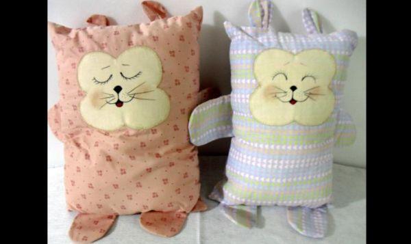 almofadas de gatinho