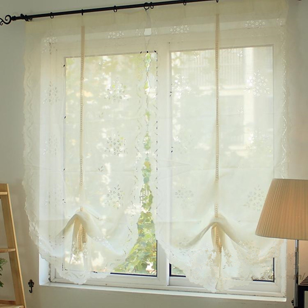 cortina de renda