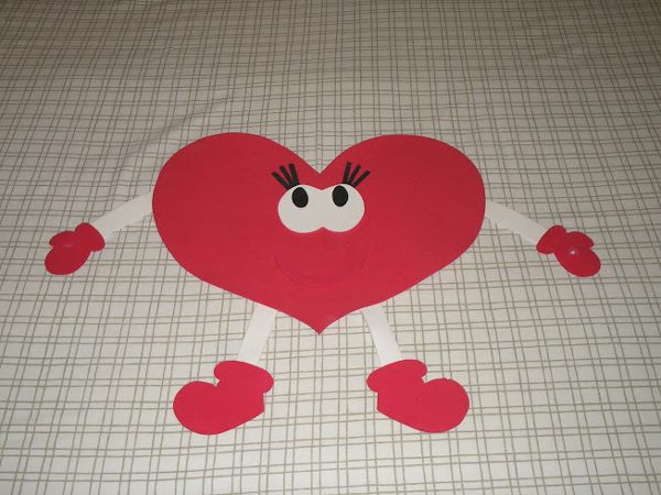 coração de eva infantil