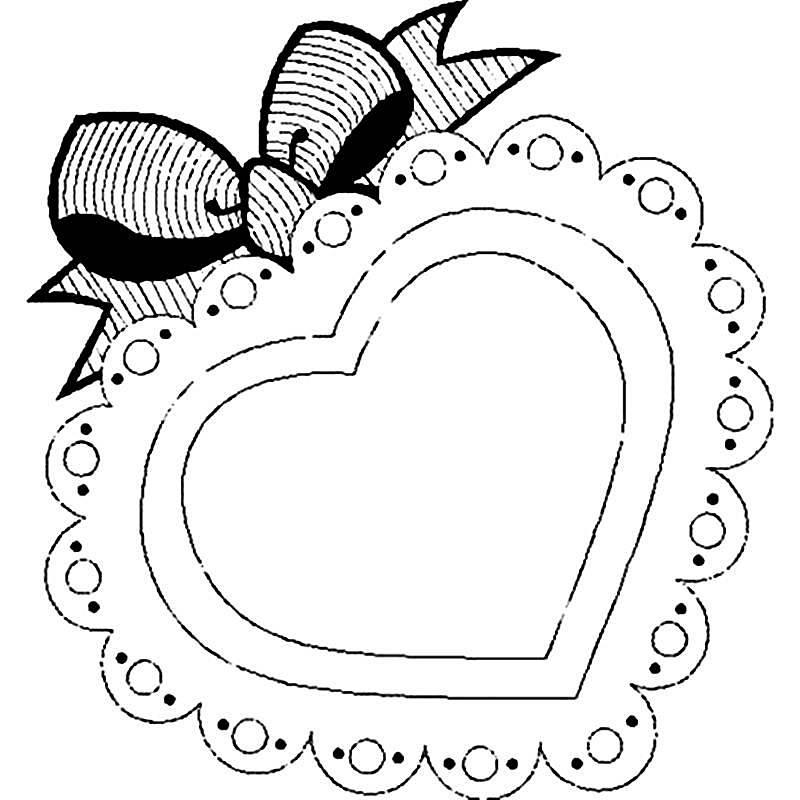 coração para bordado