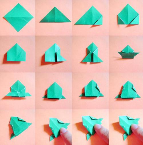 origami sapinho