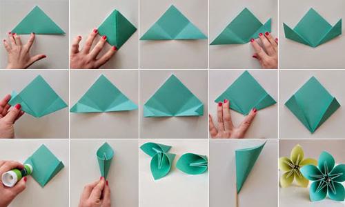 origami florzinha