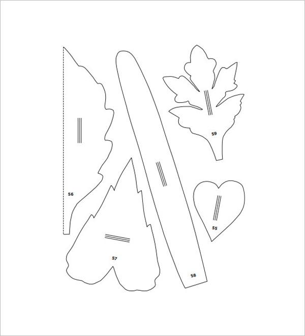 montagem flor