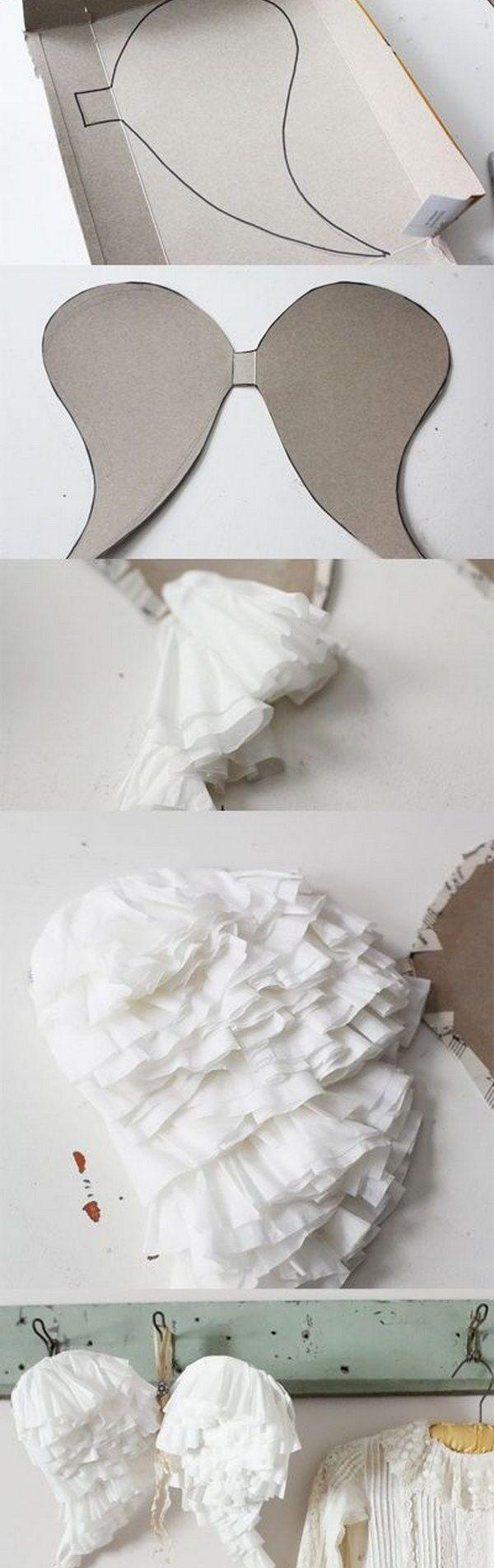 asa de anjo papel
