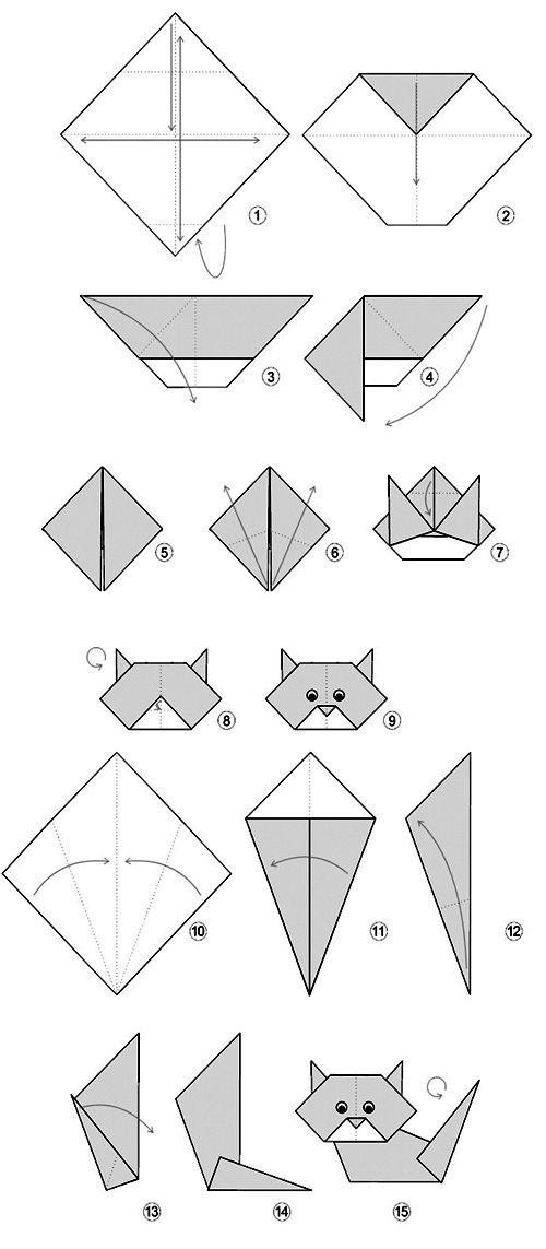 origami urso