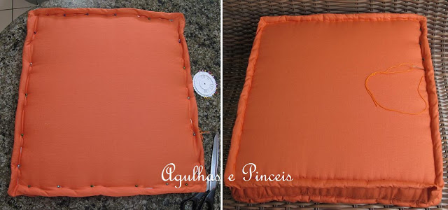 almofada capa