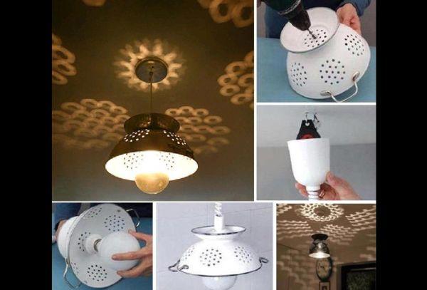 artesanato para cozinha luminaria