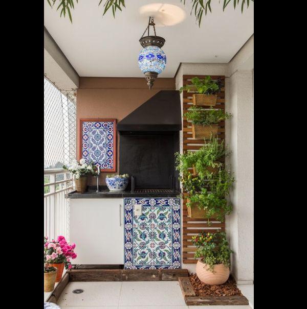 jardim vertical com treliça