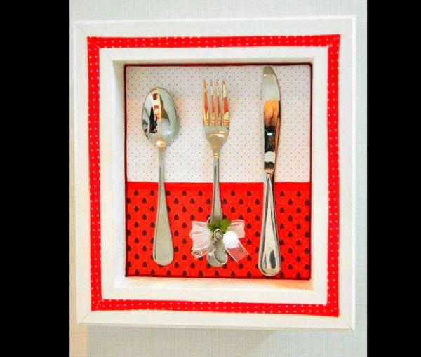 artesanato para cozinha quadro