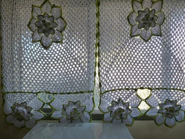 artesanato para cozinha cortina