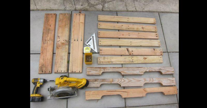 Artesanato com madeira de demolição como fazer