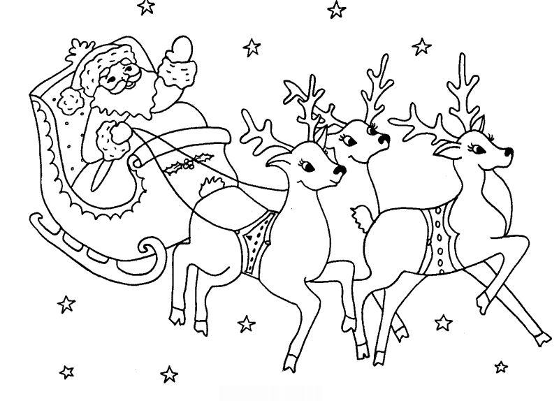 desenho natalino treno