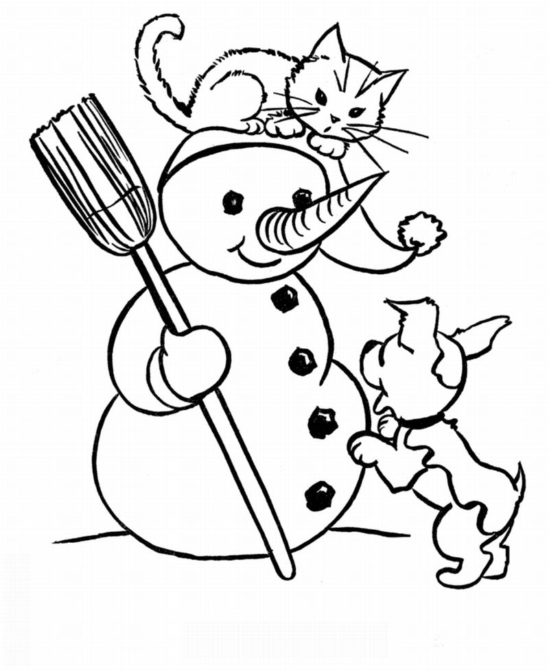 desenho natalino boneco de neve