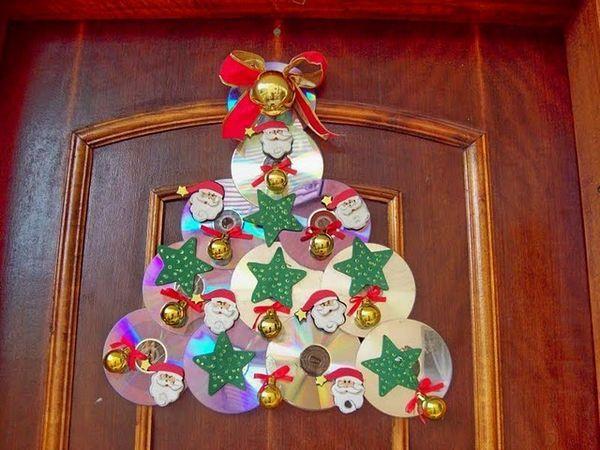enfeites natalinos para porta