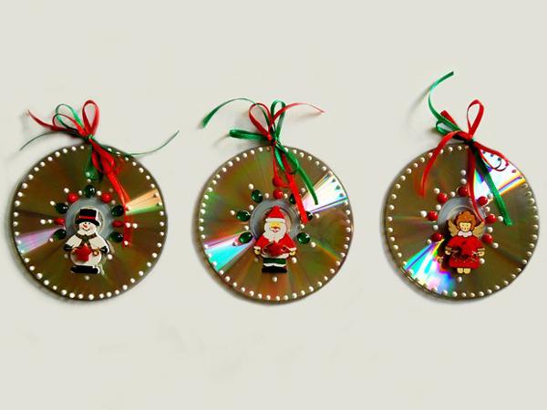 Enfeites de natal reciclados e f ceis de fazer for Manualidades souvenirs navidenos