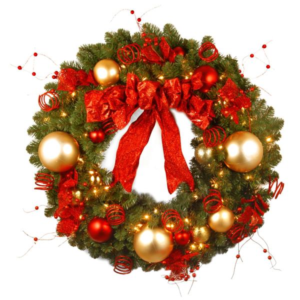 guirlanda de Natal laços