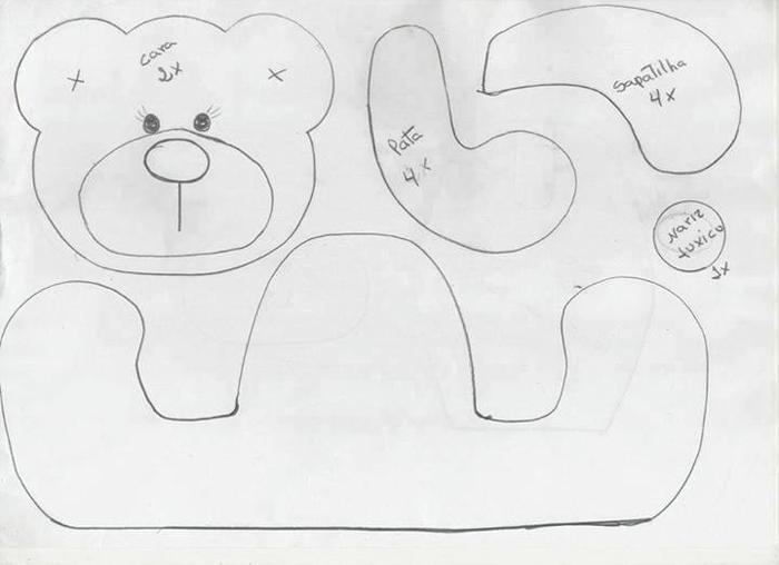 urso sentado