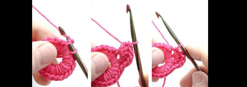 flor de crochê tutorial