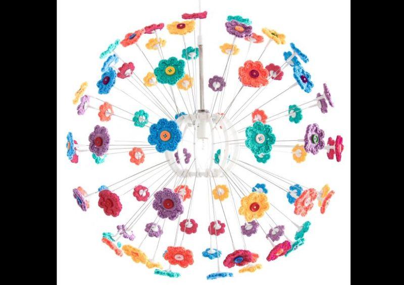como fazer flor de crochê
