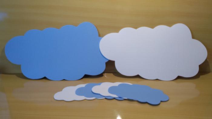 nuvens diversas