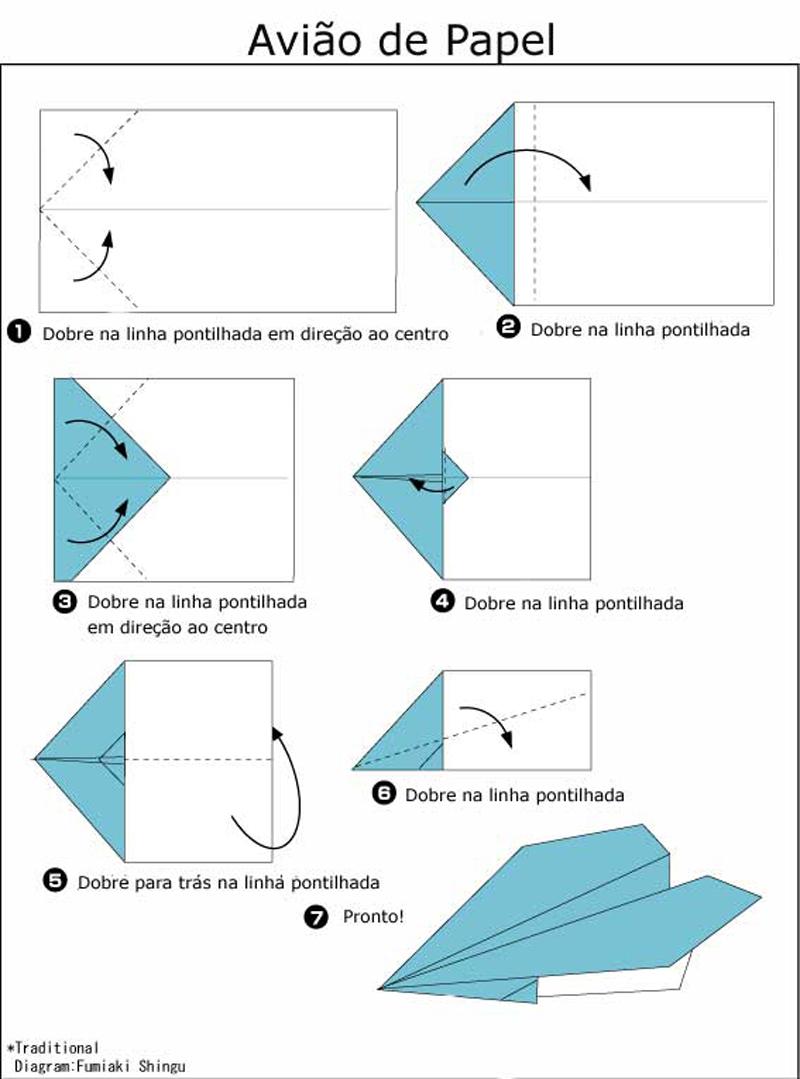 dobradura de papel